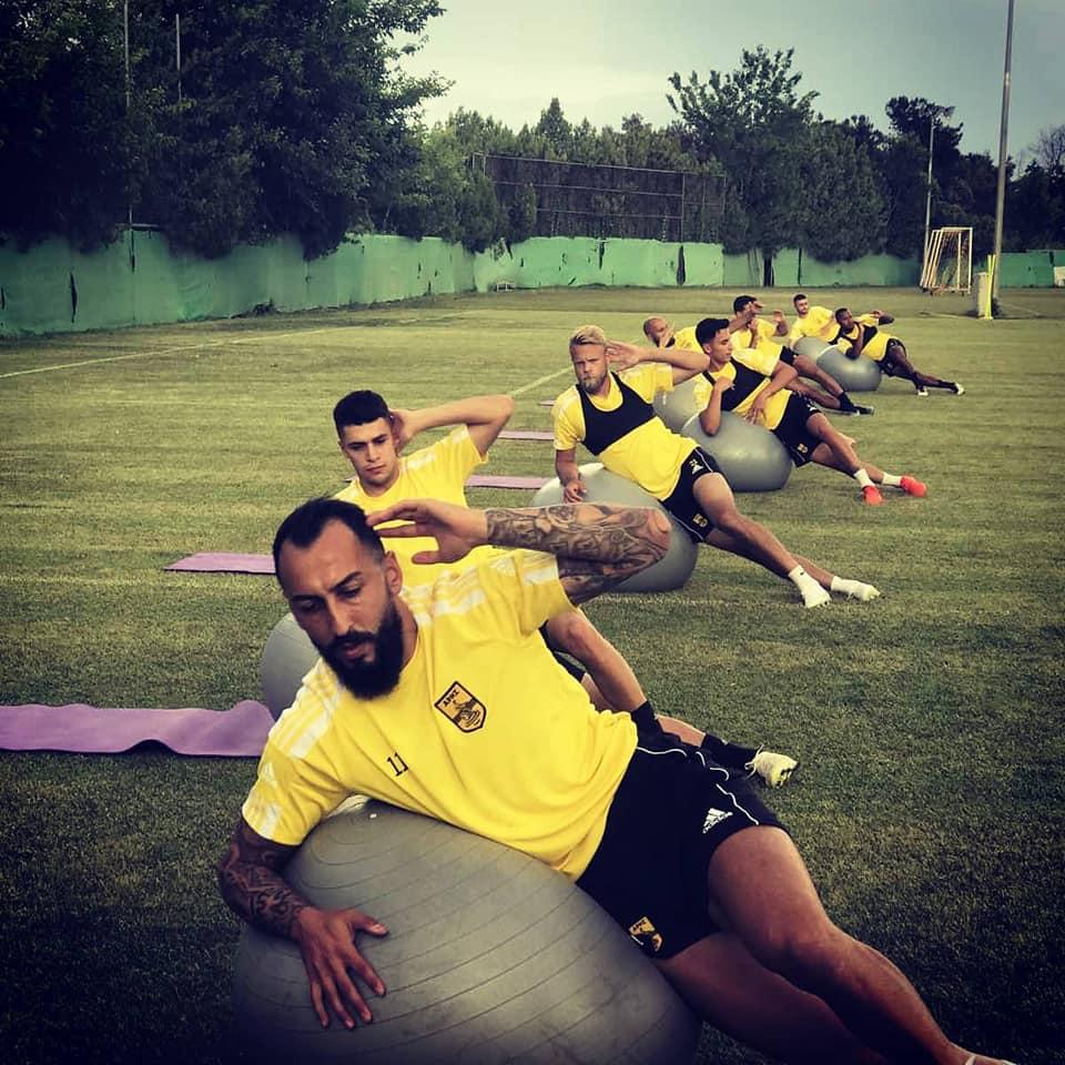Ο Κώστας Μήτρογλου ήταν το νέο πρόσωπο για τους «κιτρινόμαυρους» στην προπόνηση που έγινε την Τετάρτη (16/6) στο Ρύσιο.